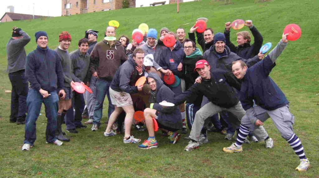 Stag Party Disc Golf Activity