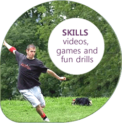 Disc Flying Skills and Practice