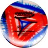 TeeBird Red Triangle Fly Dye Champion Golf Disc