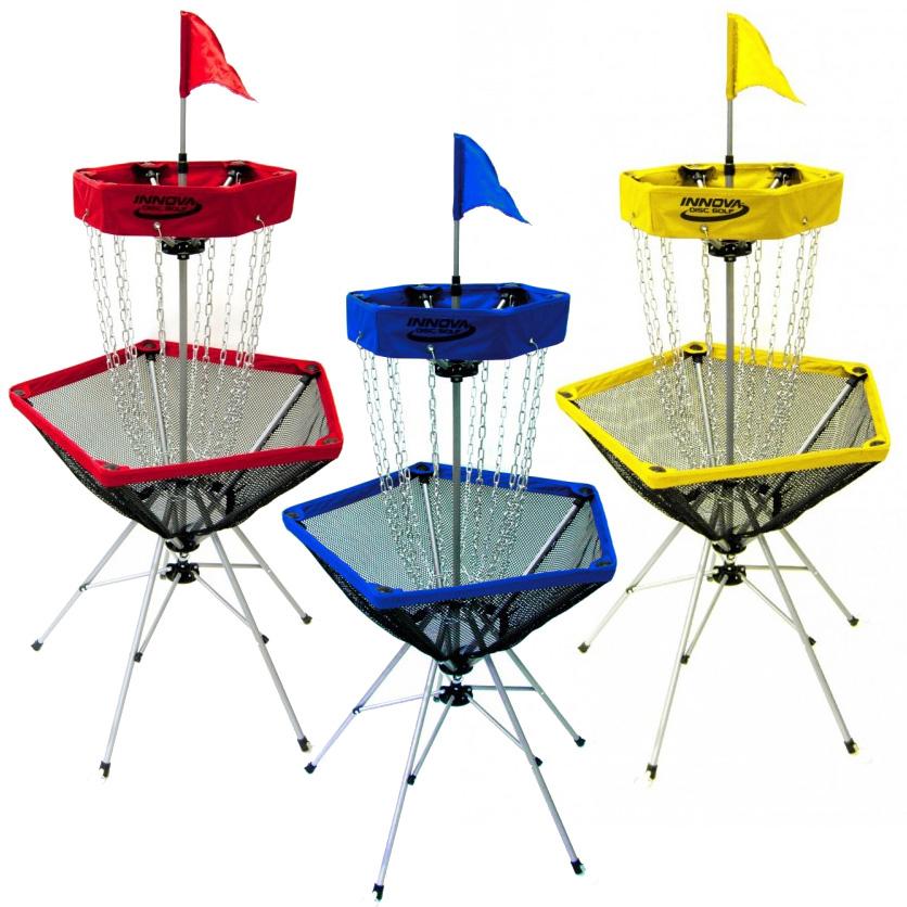 Disc Golf Course Equipment ~ Discatcher traveler portable disc golf target